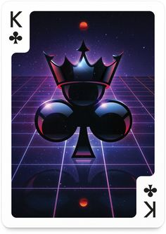 King of Clubs by James White – Edition One – Playing Arts Playing Cards Art, Custom Playing Cards, Ace Of Spades Tattoo, Eagle Wallpaper, Skull Wallpaper, Ace Card, Club Tattoo, Collaborative Art Projects, Band Wallpapers