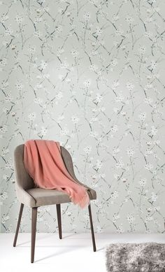 KWAI by Zoom // Leela Jade // A gentle, romantic, country-side portrayal of nature. Interior Decorating, Interior Design, Contemporary Interior, Interior Inspiration, Wallpaper, Jade, Style, Romantic, Cleaning