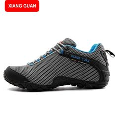 49.10$  Watch here - http://aigs7.worlditems.win/all/product.php?id=32716914484 - XIANG GUAN New Lightweight Outdoor Hiking Shoes For Men and Women Breathable Sneakers Man Walking Trekking Shoes Men 81286