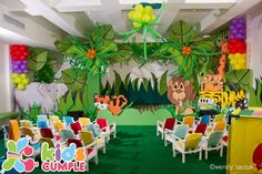 Cumpleaños Safari Birthday Party