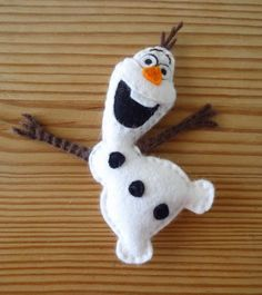Dinki Dots Craft: Felt Olaf