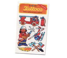 Feuerwehr-Tattoo - Kindergeburtstag Feuerwehr http://www.firlefantastisch.de/epages/15496426.sf/de_DE/?ObjectPath=/Shops/15496426/Products/31324