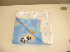 All one of a kind two sided lightweight baby blankets