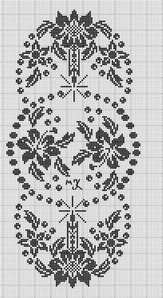 dantel - i şahane Xmas Cross Stitch, Cross Stitch Charts, Cross Stitch Designs, Cross Stitching, Cross Stitch Embroidery, Cross Stitch Patterns, Crochet Patterns, Filet Crochet Charts, Crochet Cross