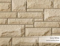 Laurier Building Stone - Ivory White