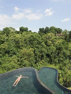 Amazing swimming pool at this hotel in Bali