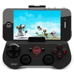 Generic Bluetooth Controller Android Wireless Game Controller Gamepad Joystick for iPhone / iPod / iPad / Android Phone / Tablet PC, Black