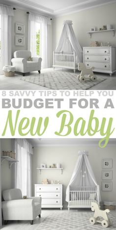 8 Savvy Tips to Help you Budget for a New Baby. Having a newborn does not need to be financially crippling. Here are some easy ways to save money without cutting corners!
