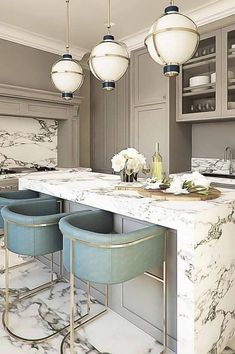 40 Kitchen Design Ideas Stands Like To Win Your Likes Page 140 Best Kitchen Interior Design Ideas 2019 White Kitchen Design İdeas Modern Photos Best Kitchen Interior Design Ideas 2019 –… Luxury Kitchen Design, Interior Design Kitchen, Interior Ideas, Kitchen Designs, Room Interior, Marble Interior, Grey Interior Design, Modern Interior, Minimalist Kitchen