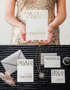 Gorgeous Wedding Invitation Inspiration. To see more: http://www.modwedding.com/2014/07/07/wedding-invitation-inspiration/ #wedding #weddings #wedding_invitation Featured Wedding Invitation: The Aerialist Press