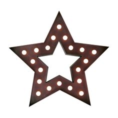 Iluminación metálica decorativa STAR (Decoración metálica iluminada) - Sillas de diseño, mesas de diseño, muebles de diseño, Modern Classics, Contemporary Designs...
