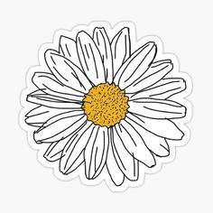 Stickers Discover Daisy Sticker by 201195 a pretty daisy just like you! xo Also buy this artwork on stickers apparel phone cases and more. Stickers Kawaii, Phone Stickers, Cool Stickers, Printable Stickers, Planner Stickers, Macbook Stickers, Wallpaper Tumblr Lockscreen, Mobile Wallpaper, Image Tumblr