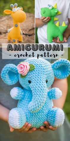 Find the perfect handmade gift, vintage Crochet Animal Patterns, Stuffed Animal Patterns, Crochet Patterns Amigurumi, Amigurumi Doll, Crochet Animals, Unique Crochet, Cute Crochet, Crochet For Kids, Crochet Projects