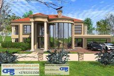 2 Storey House Design, Modern House Design, Modern Houses, Beautiful House Plans, Beautiful Homes, Double Storey House Plans, House Plans South Africa, Site Plans, House Floor Plans