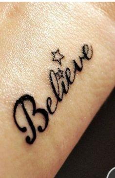 Believe star
