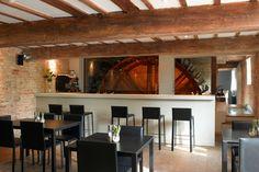 Tuddenham Mill Hotel, Tuddenham (UK) - Slim stool by Bluezone for Kristalia #stools #barstool #barfurniture