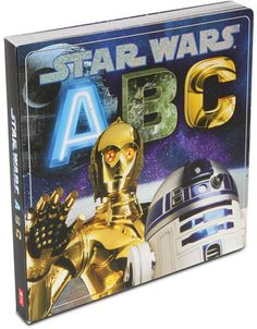 Kids Star Wars ABC Board Book