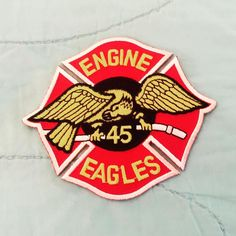 FDNY ENGINE 45 PATCH (THE EAGLES)..... by themajestirium1