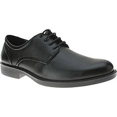Spring Step Mens Harrisons Men'S Lace Up #chefshoe #chefstyle #kitchenstyle Kitchen Shoes, Chef Shoes, Spring Step, Shoes Outlet, Shoes Online, Oxford Shoes, Dress Shoes, Black Leather, Lace Up