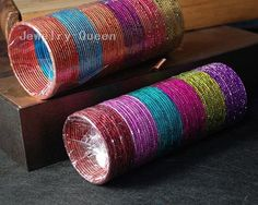 2pc/lot free shipping Indian Style Multicolor Alloy Bangle Bracelet 8 inch 12 colors C2390