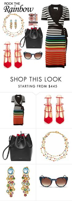 """""""why oh why can't I"""" by vkrene on Polyvore featuring Sonia Rykiel, Christian Louboutin, Marco Bicego, Thierry Lasry, Charlotte Tilbury, women's clothing, women's fashion, women, female and woman"""