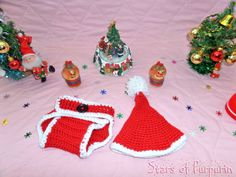 Set Christmas of Santa Claus to Baby. Santa Claus Hat, Santa Baby, Lana, Crochet Hats, Photoshoot, Etsy, Seasons, Costumes, Santa Christmas