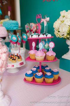 Festa azul Tiffany e rosa   Macetes de Mãe Balloon Basket, Balloon Hat, Balloon Bouquet, Balloon Arch, Helium Balloons, Party Entertainment, Childrens Party, Party Themes, Party Ideas