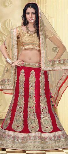 Similar #Lehenga in RED -  Grab it now at flat 10% off + extra 5% off on using promocode ILOVEUMOM.  #MothersDay #bride #bridalwear #IndianWedding #IndianFashion 3Lace #Embroidery #Onlineshopping