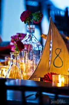 Want a more vintage look to your ocean/beach wedding? Go for Sailboats, lighthouses, and lanterns | Sayulita Vintage Chic Wedding!