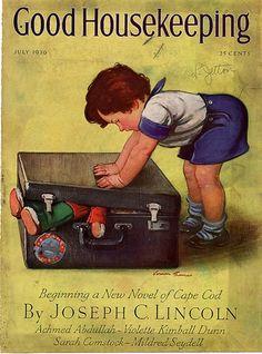 Good Housekeeping, Vernon Thomas, cover artist