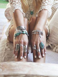 Rings and blings and things