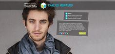 Actor CARLOS MONTERO