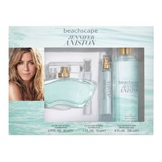 With 3 different ways to apply, use a fregnance that suits your needs every day with this Jennifer Aniston set. Jennifer Aniston Perfume, Jennifer Lopez, Fragrance Mist, Getting Wet, Beauty Women, Mists, 3 Piece, How To Apply, Hair Beauty