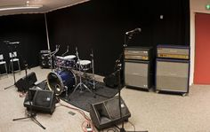 Band practice room