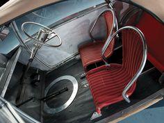 1957 Voisin C31 Biscooter - WICKER SEATS?!?!??!!! / carinteriors