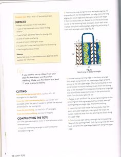 . Bag Patterns To Sew, Sewing Patterns, Two By Two, Bullet Journal, Positivity, Stitch, Full Stop, Patron De Couture, Dress Patterns