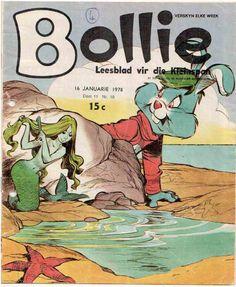 My ouma het altyd Bollie plakboeke gemaak vir die kinders om te lees wanneer hulle kom kuier.