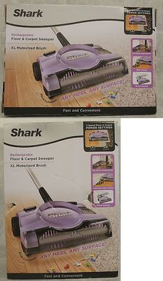 carpet and floor sweepers shark 12 floor and carpet sweeper v2945z u003e - Shark Sweepers