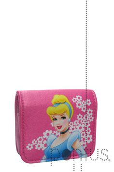 Porta-moedas Princesas quadrado c/mola | JB