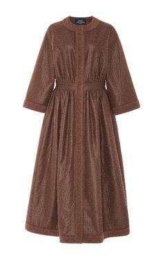 Wool A Line Coat by ALENA AKHMADULLINA for Preorder on Moda Operandi