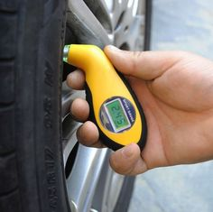Digital LCD Car Tire Tyre Air Pressure Gauge Meter electronic Manometer Barometers Tester Tool - House of Electrics - Best Electrics Products at Best Prices