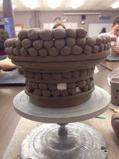 Starting pattern to my lighthouse coil pot. 2K16
