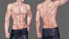 🎀ぴょん子🐇Mikaミカ🎀 (@mikaluvsuuu) / Twitter Drawing Body Poses, Body Reference Drawing, Drawing Reference Poses, Anatomy Reference, Male Pose Reference, Human Anatomy Art, Body Anatomy, Digital Painting Tutorials, Digital Art Tutorial