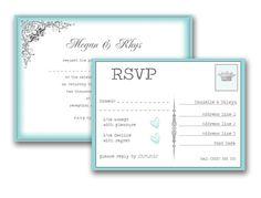 Vintage Swirl Wedding Invitation & RSVP Wedding Stationery, Wedding Planner, Destination Wedding, Wedding Invitations, Wedding Dress Brands, Best Wedding Dresses, Wedding Bride, Dream Wedding, Quirky Wedding