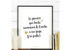 Affichez votre amour avec des mots doux ! #love #poster #citation