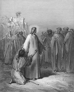 """September 1st - Luke 4:31-37: Jesus went down to Capernaum, a town of Galilee. He taught them on the sabbath, and they were astonished at his teaching because he spoke with authority. In the synagogue there was a man with the spirit of an unclean demon, and he cried out in a loud voice, """"What have you to do with us, Jesus of Nazareth? Have you come to destroy us? I know who you are–the Holy One of God!"""""""