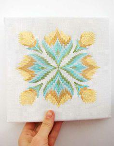 aesthetic outburst bargello...needlepoint pattern that i think Carol Laman would like...hugs