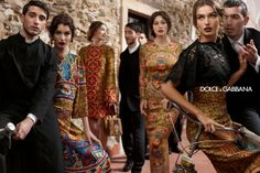 Beautiful Byzantine-themed Dolce & Gabbana looks, FW 2013 14 #byzantium