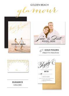 Seaside Wedding Inspiration with Wedding Paper Divas