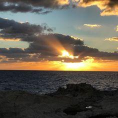 #sunset #azurewindow #magicsunset #photography #photographer #photooftheday Places To Travel, Celestial, Vacation, Sunset, Holiday, Instagram Posts, Photography, Outdoor, Sunsets